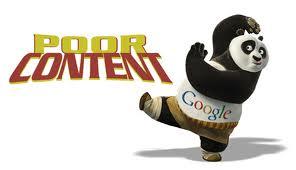 Google panda fighting off poor content