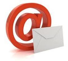 email @ symbol with envelope