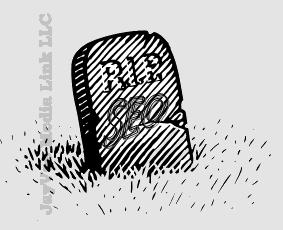 RIP SEO tombstone