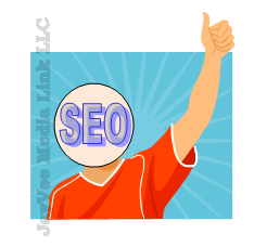 SEO person with thumbs up