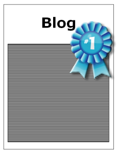 first prize winning blog