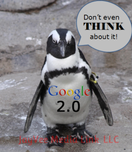 Google Penguin 2.0 gives a warning