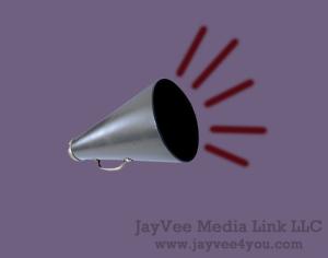 megaphone amplifying sound